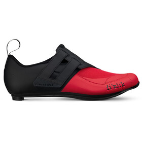 Fizik Transiro Powerstrap R4 Chaussures de triathlon, black/red